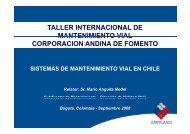 Sistemas de Mantenimiento Vial en Chile - Provias Nacional