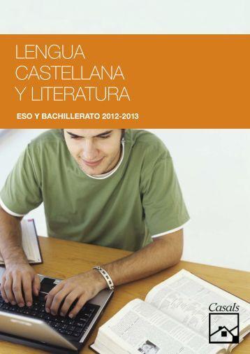 Lengua casteLLana y Literatura - Editorial Casals