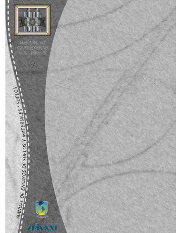 Manuales Técnicos para el Diseño de Carreteras - Administradora ...