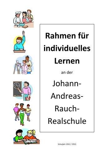 Rahmen für individuelles Lernen an der JARR als pdf zum ...
