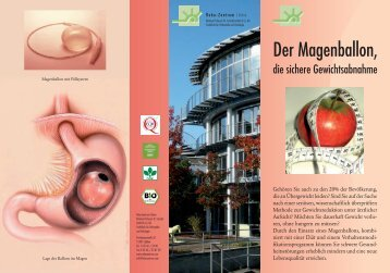 Der Magenballon, - Reha-Zentrum Lübben