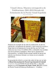 Visual Libros. Muestra retrospectiva de Publicaciones ... - Boek 861