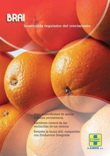 Insecticida regulador del crecimiento