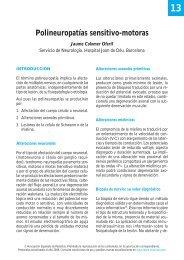 Polineuropatías sensitivo-motoras - Asociación Española de Pediatría