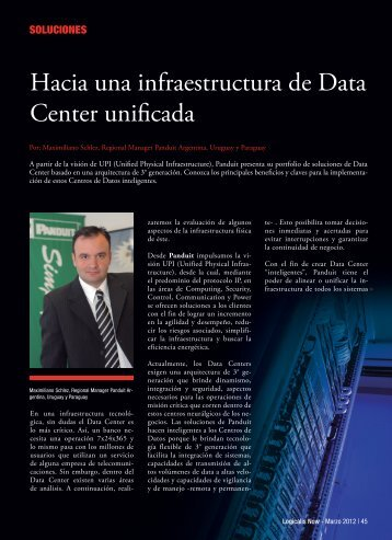 Hacia una infraestructura de Data Center unificada - Logicalis
