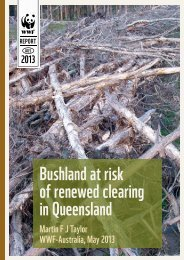 Bushland at risk of renewed clearing in Queensland