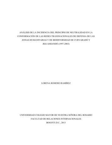 análisis de la incidencia del principio de neutralidad en la ...