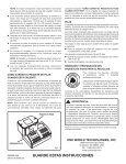 PaqueTe de Pilas de 18V P100 - Ryobi - Page 2