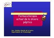 Farmacoterapia actual de la úlcera péptica - Personal.us.es