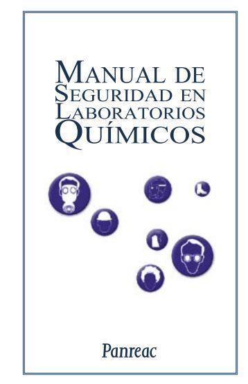 Seguridad en Laboratorios Químicos (PANREAC) - Instituto de ...
