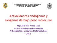 Antioxidantes de bajo peso molecular endógeno y exógeno
