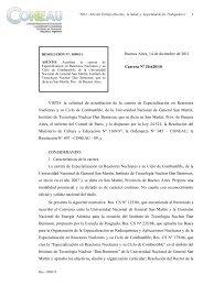 """""""2006 – Año de homenaje al Dr - Coneau"""