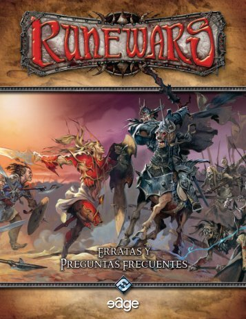 Runewars, la FAQ - Edge Entertainment