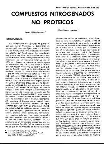 COMPUESTOS NITROGENADOS NO PROTEICOS - Binasss