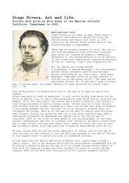 Diego Rivera, Art and life - Erik Somer