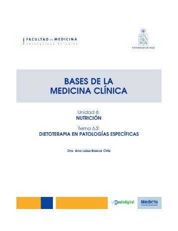 nutricion en pacientes con cancer - Bases de la Medicina Clínica