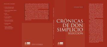 Crónicas de Don Simplicio (selección) - Cámara de Diputados