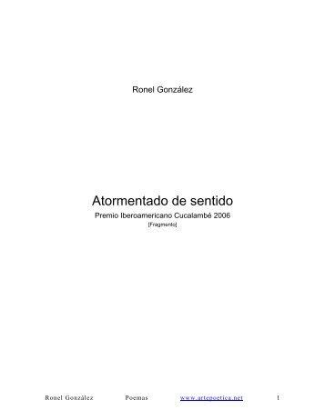 Ronel Gonzlez - Rostros y Versos