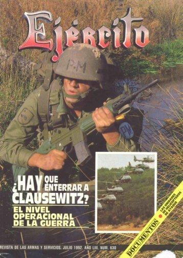 Nº 630 1992 Julio - Portal de Cultura de Defensa - Ministerio de ...