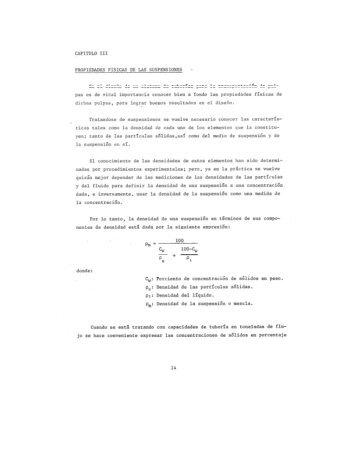 PROPIEDADES FÍSICAS DE LAS SUSPENSIONES \