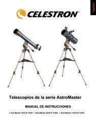 Telescopios de la serie AstroMaster - Celestron