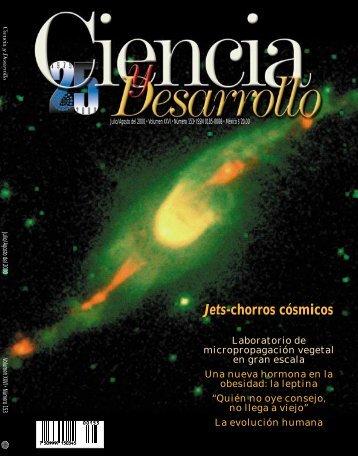 Jets-chorros cósmicos - Revista Ciencia y Desarrollo - Conacyt