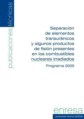 Descargar PDF (2545 KB) - Enresa
