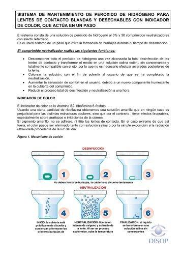 sistema de mantenimiento de peróxido de hidrógeno para ... - Disop