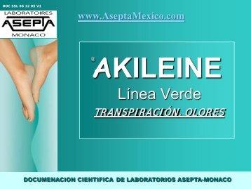 AKILEÏNE Presentación de Productos(PDF) - ASEPTA ...