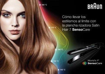 Descarga las instrucciones para crear el peinado - Braun