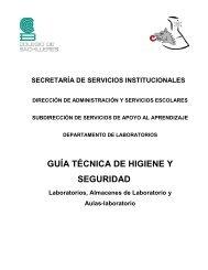 MANUAL DE HIGIENE Y SEGURIDAD - Colegio de Bachilleres