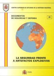 La seguridad frente a artefactos explosivos - Ministerio de Defensa