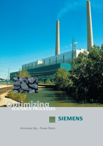 SCR and SNCR optimization.pdf - Siemens