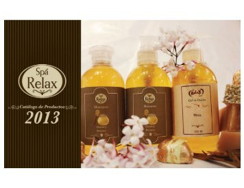 Catalogo RELAX 2013 - Spa Relax