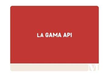 LA GAMA API