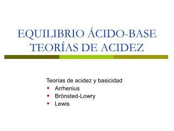 Acidos y Bases - TEC-Digital