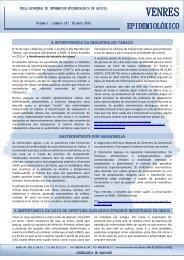 Venres Epidemiolóxico #10 - Sergas