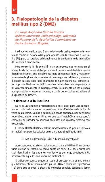 fisiopatologia diabetes mellitus 2 es