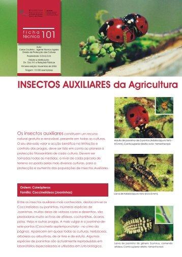 101 Insectos Auxiliares da Agricultura - Direcção Regional de ...
