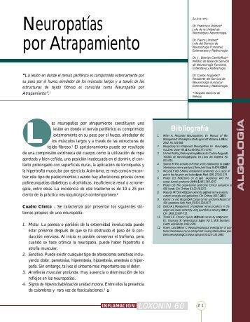 Neuropatías por Atrapamiento - IntraMed