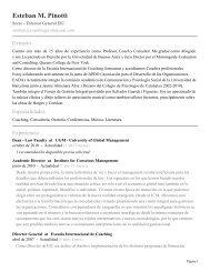 Esteban M. Pinotti - Escuela Internacional de Coaching