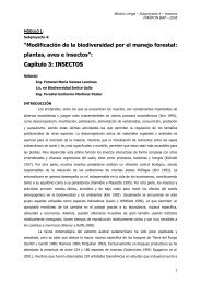 Insectos Lengal - Secretaria de Ambiente y Desarrollo Sustentable