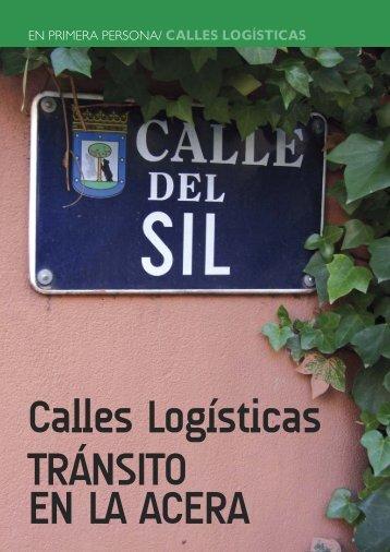 EN PRIMERA PERSONA/ CALLES LOGÍSTICAS - SIL