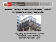 Normatividad Sobre Seguridad y Salud durante la Construcción Ing ...