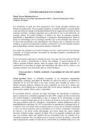 Control biologico en citricos.pdf - Crop protection