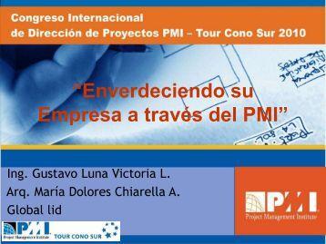 GUSTAVO LUNA VICTORIA, MARIA CHIARELLA - PMI - Perú