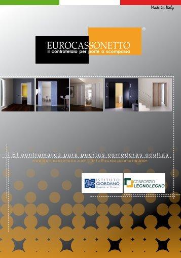 El contramarco para puertas correderas ocultas ... - Eurocassonetto