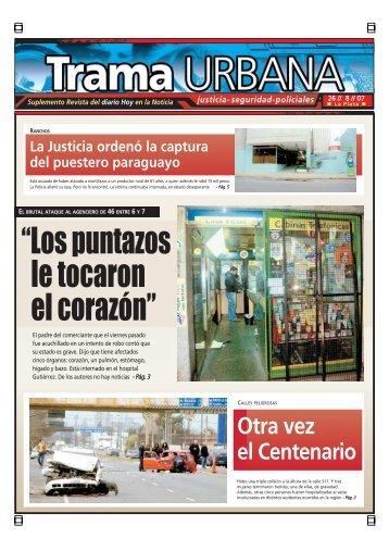 """le tocaron el corazón"""" - Diario Hoy"""
