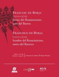 Francesc de Borja Francisco de Borja - CEIC Alfons el Vell.