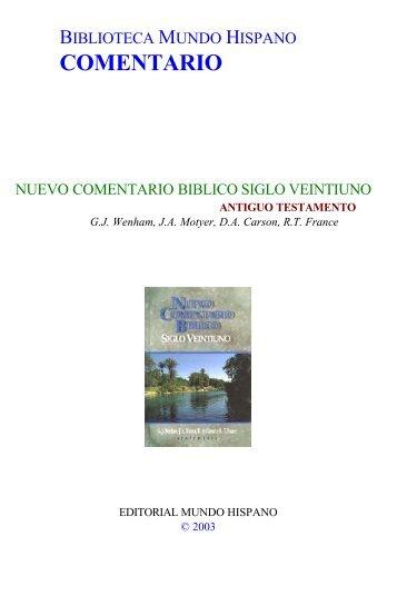 Nuevo-Comentario-Biblico-Siglo-Xxi-01-At[...] - en el Taller del ...